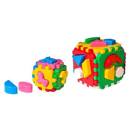 "Куб ""Розумний малюк 1+1"""