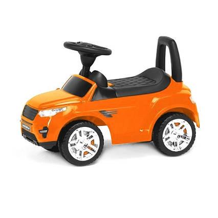 Дитяча машинка-каталка (помаранчева)
