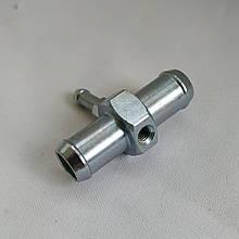Тройник газовый Atiker 12x5x12мм стальной под термодатчик