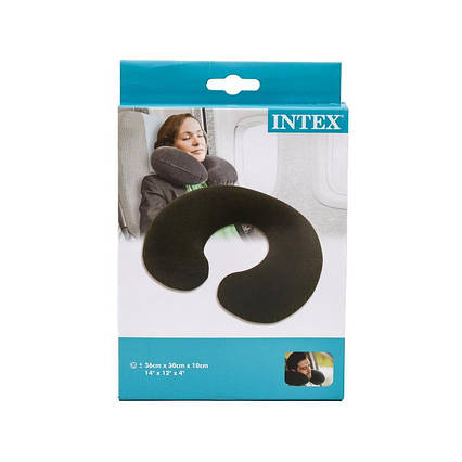 Подушка-підголівник Intex