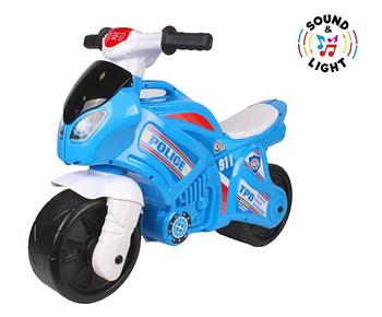 Мотоцикл беговел дитячий ТехноК 5781, синій