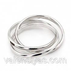 Серебряное кольцо Вера, Надежда, Любовь