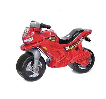 Мотоцикл беговел дитячий Оріон 501 С, червоний