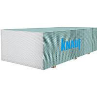 Гипсокартон влагостойкий Knauf 12,5*2500*1200мм
