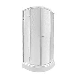 Набір Qtap душова кабіна Presto CRM1099AP5 Pear + піддон Uniarc 309915