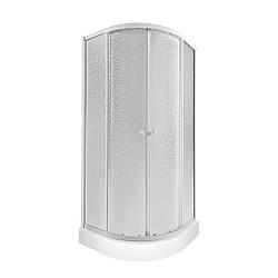 Набір Qtap душова кабіна Presto WHI1099AP5 Pear + піддон Uniarc 309915