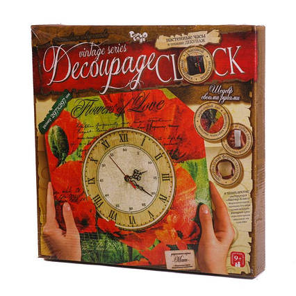 "Комплект ""Decoupage Clock"""
