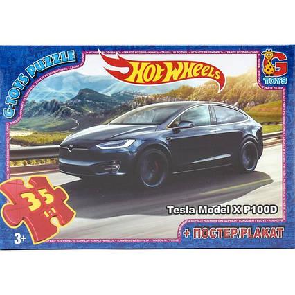 "Пазли серії ""Hot Wheels"", 35 елементів"