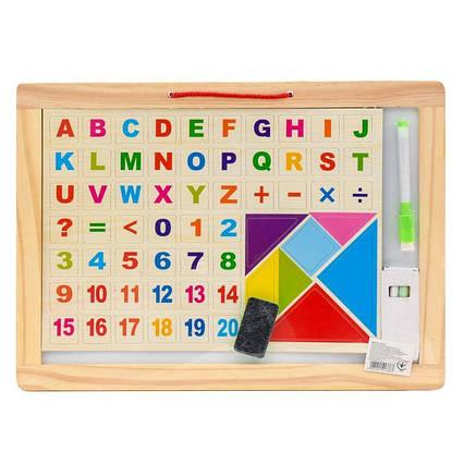 Дошка для малювання з літерами