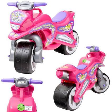 Мото-байк, рожевий