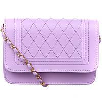 Женская фиолетовая сумочка, фиолетовый клатч, мини сумка тренд 2021   СС-6085-90