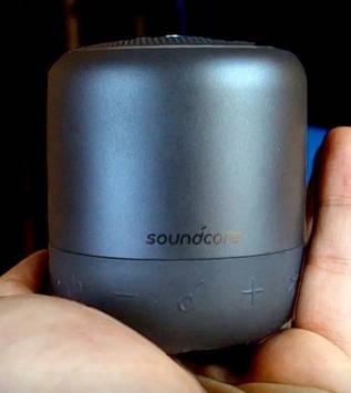 Портативная колонка Anker Soundcore Mini 3 black 6 Вт IPX7 Bluetooth 5.0