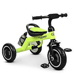 Трехколесный велосипед  Turbo Trike с подсветкой и бутылочкой для воды M 3648-5