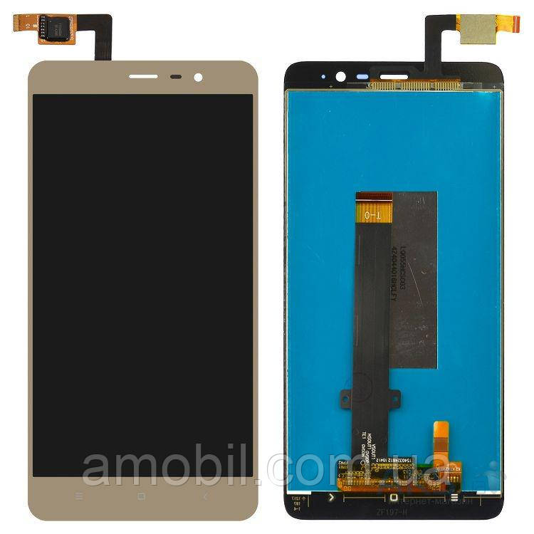 Дисплей + Сенсор Xiaomi Redmi Note 3 Pro SE (Special Edition) (149мм) gold orig