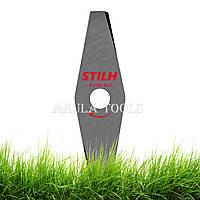 Нож 2-х лопастной STIHL 230мм по траве для мотокосы и бензокосы