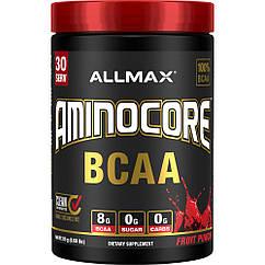 БЦАА AllMax Nutrition AminoCore BCAA 315 грамм Фруктовый пунш