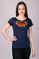 Харьков Вышиванка женская футболка LVF-2