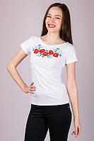 Харьков Вышиванка женская футболка LVF-3