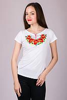 Харьков Вышиванка женская футболка LVF-4
