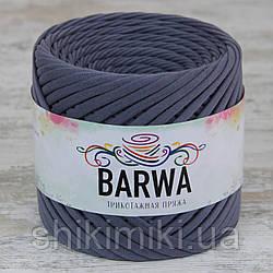 Пряжа трикотажна Barwa (7-9 мм), колір Стоун