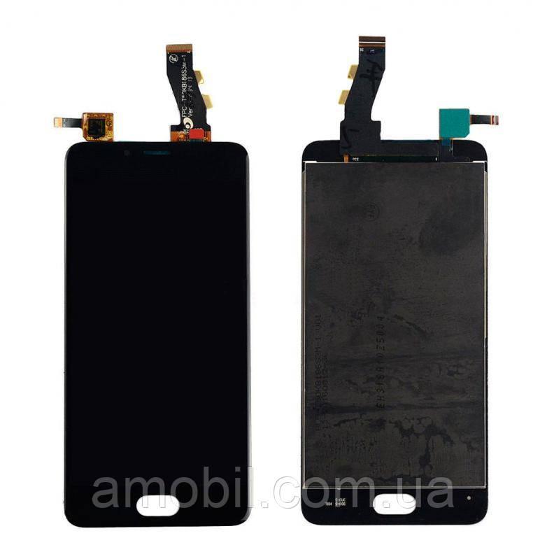 Дисплей + сенсор  Meizu U10 (U680H) black