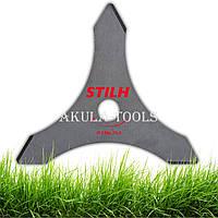 Диск 3-х лопастной STIHL 230мм по траве для мотокосы и бензокосы