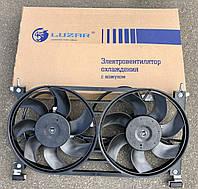 Вентилятор ВАЗ-21214 электрический двойной в сборе Luzar, фото 1