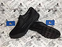 Летние мужские кроссовки черного цвета BS-KMB