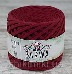 Пряжа трикотажна Barwa (7-9 мм), колір Гранат