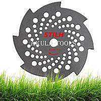 Диск 8-ми лопастной STIHL 250мм по траве для мотокосы и бензокосы