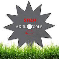 Диск 12-ти лопастной STIHL 230мм (универсальный) по траве для мотокосы и бензокосы