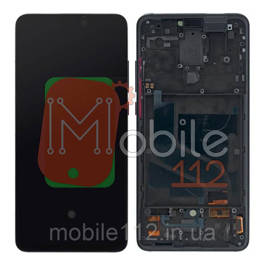 Экран (дисплей) Xiaomi Mi 9T Mi9T Redmi K20 + тачскрин черный OLED с передней панелью