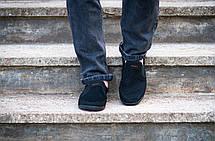Мокасини еспадрільї чоловічі літні чорні 40 розмір, фото 3