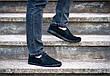Мокасини еспадрільї чоловічі літні чорні 40 розмір, фото 4