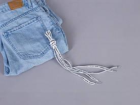 Шнурки белые с надписями