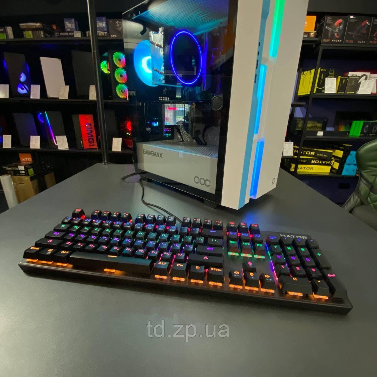 Клавиатура проводная Hator Starfall Outemu Red