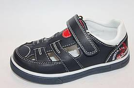 Туфлі Тому М 0982В темно сині з білим 27