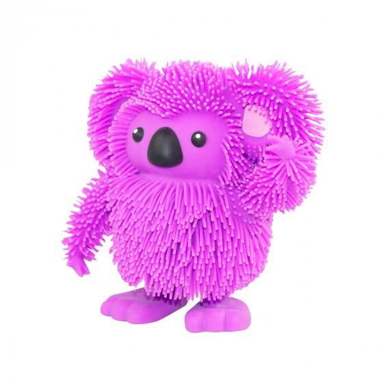 Интерактивная игрушка Jiggly Pup - Зажигательная коала (фиолетовая) JP007-PU