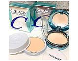 Зволожуюча пудрова з колагеном Enough Collagen Hydro Moisture Two Way Cake SPF25 PA++ ТОН 13, фото 2