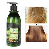 Шампунь для волос с оливковым маслом восстанавливающий BIOAQUA Olive Shampoo 400 мл, фото 2