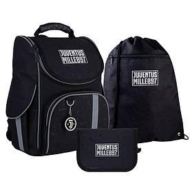 Набір рюкзак Kite + пенал + сумка для взуття SET_JV21-501S FC Juventus