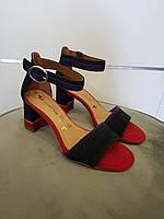 Босоніжки жіночі TAMARIS BLK Suede Comb, фото 1
