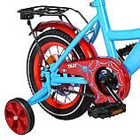 """Двухколесный велосипед TILLY Monstro 12"""" T-21228/1 blue+red, фото 5"""