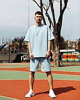 Мужской спортивный костюм с шортами