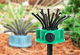 Розумна система поливу Multifunctional sprinkler розпилювач дощуватель для поливу газону на 360 градусів, фото 3