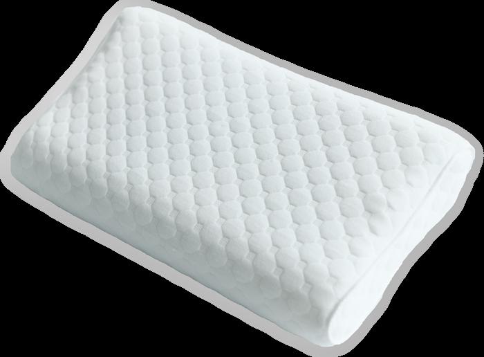 Трехслойная ортопедическая подушка с эффектом памяти - Olvi J2503