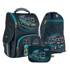 Набір рюкзак Kite + пенал + сумка для взуття Speed SET_K21-501S-1