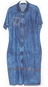 Джинсові літні сукні великих розмірів туреччина