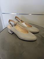 Туфлі жіночі GoErgo сірі шкіряні 39