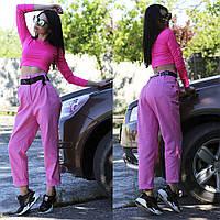 Женские джинсовые брюки с высокой посадкой на лето, фото 1